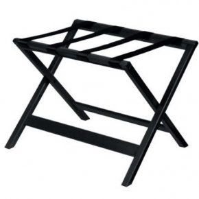 Аксессуары и Мебель для дома. Aliseo KOFFERABLAGE подставка для сумок и чемоданов складная деревянная чёрная без спинки