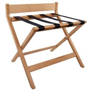 Аксессуары и Мебель для дома. Aliseo KOFFERABLAGE подставка для сумок и чемоданов складная деревянная бук