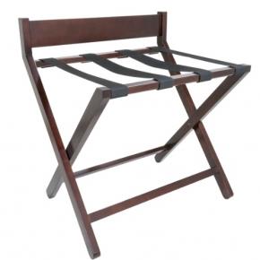 Аксессуары и Мебель для дома. Aliseo KOFFERABLAGE подставка для сумок и чемоданов складная деревянная махагони