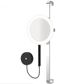 Зеркала косметические с подсветкой увеличением настенные настольные Зеркала с присосками. ALISEO LED MOON DANCE косметическое зеркало на штанге с подсветкой и увеличением х3