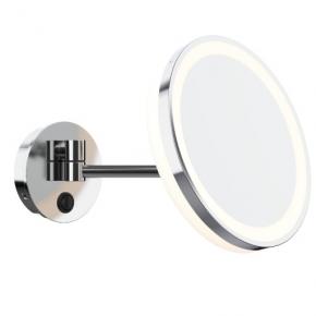 Зеркала косметические с подсветкой увеличением настенные настольные Зеркала с присосками. ALISEO ME косметическое зеркало с подсветкой и увеличением х3 настенное
