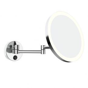 Зеркала косметические с подсветкой увеличением настенные настольные Зеркала с присосками. ALISEO MY косметическое зеркало с подсветкой и увеличением х3 настенное