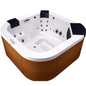 Ванны. Jacuzzi Delfi Pro минибассейн декор Тик