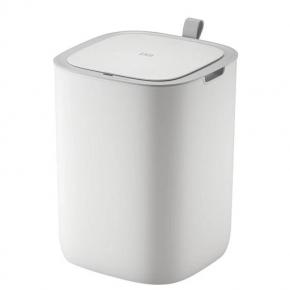 Сенсорные вёдра и баки для мусора. EKO сенсорное мусорное ведро 12 литров белое полипропиленовое