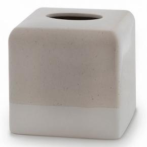 . Салфетница Kassatex Culver керамическая куб