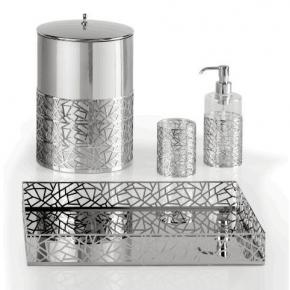 Аксессуары для ванной настольные. Hiroito Villari настольные аксессуары для ванной хром