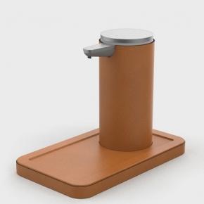 Санитайзеры. Igea Sanitizing санитайзер кожаный настольный с подставкой сенсорный