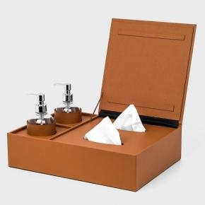 Санитайзеры. Igea Sanitizing санитайзер кожаный набор шкатулка