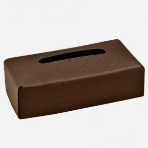 Салфетницы настольные настенные. GioBagnara Rectangular салфетница прямоугольная коричневая Brown