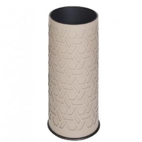 Подставки для зонтов. GioBagnara Bino подставка для зонтов кожаная с декором
