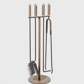 Аксессуары для камина. Pinetti Attrezzi camino набор аксессуаров для камина напольный