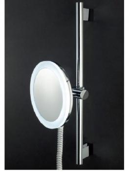Зеркала косметические с подсветкой увеличением настенные настольные Зеркала с присосками. Зеркало косметическое с подсветкой на штанге LED настенное с увеличением