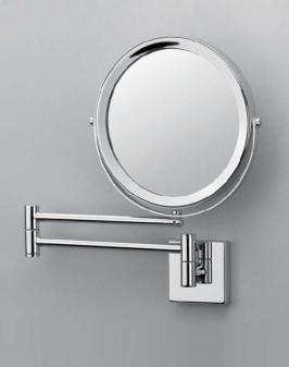 . Decor Walther Косметическое зеркало настенное с увеличением Spiegel 282 двухстороннее хром