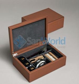 Pinetti Scarpa набор для ухода за обувью в кожаном боксе