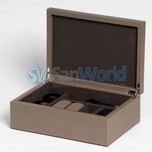 Pinetti SHOES BOX набор для ухода за обувью в кожаном боксе
