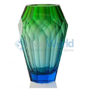 Хрустальная ваза 30,5 см Океан Moser