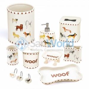 Dogs on Parade керамические аксессуары для ванной декор Собаки