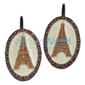Набор из 12 крючков для шторки I Love Paris ILP83MULT