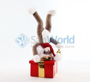 Заяц новогодний (модель 4)
