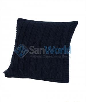Декоративная подушка Boston (40х40) синий от Casual Avenue