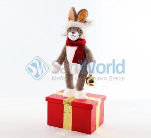 Заяц новогодний (модель 1)