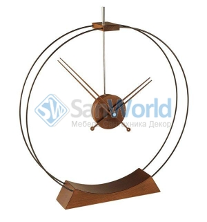 Nomon Aire walnut часы Ø50 см