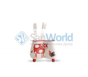 Стакан для зубных щеток Kiddie Farm XKIDDE001R