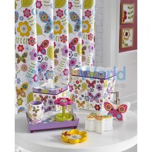 Butterflies керамические настольные аксессуары для ванной