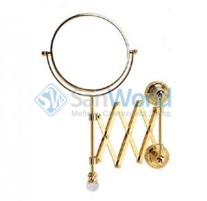 Зеркало оптическое настенное ML.CRS-60.219 BR Cristalia для ванной с кристаллами Swarovski