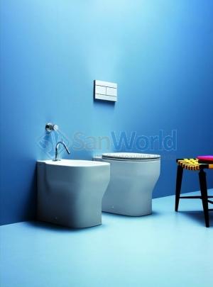 Azzurra Glaze GLZ 500/P bi*1 Биде приставное