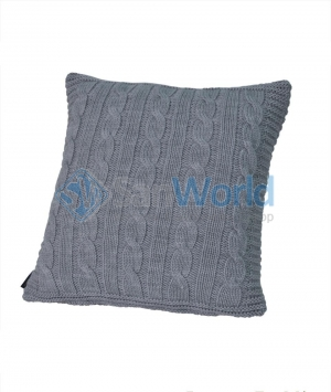 Декоративная подушка Boston (40х40) серый от Casual Avenue