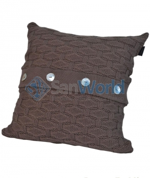 Декоративная подушка PONTE VECCHIO (40х40) Коричневый от Casual Avenue