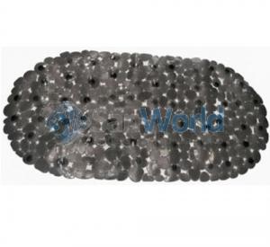 Коврик виниловый Pebbles Vinyl Bath Tub Mat Natural TM-ROC/Multi