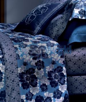 Постельное белье семейное Au Chaud Saphir (Ошо Сапфир) (140х200 — 2шт) от Yves Delorme