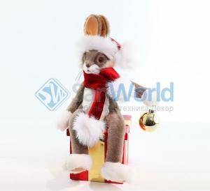 Заяц новогодний (модель 3)