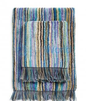 Набор из 2-х полотенец для лица (40х60) и рук (60х110) Owen Синий от Missoni