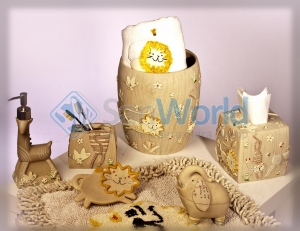 Animal Crackers керамические настольные аксессуары для ванной