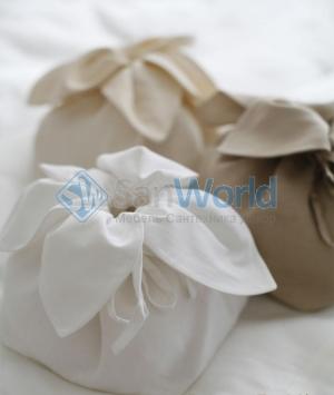 Маленькая сумка Тюльпан лен от Catherine Denoual Maison