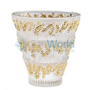 Ваза Provence золотая Lalique