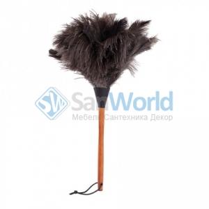 Щётка кисточка для пыли из страусиного пера 50 см