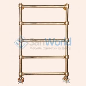 TW полотенцесушитель водяной для систем ГВС, рр 570хh780мм, цвет: золото