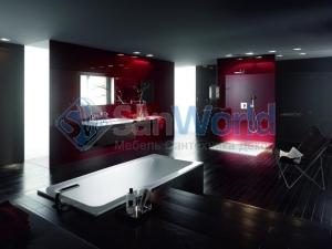 Bette One 3312 PLUS, AR Ванна прямоугольнаяс шумоизоляцией170х75х42 см, Glaze Plus и анти-слип покрытиями
