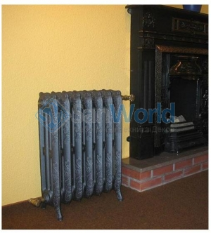Chappee чугунный радиатор Floreal, 7 секций