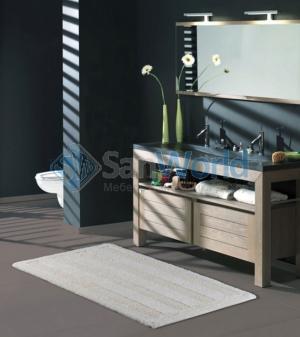 ORLANDO Nicol  Хлопковый коврик для ванной комнаты двухсторонний