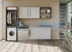 Colavene Smartop мебель встроенная раковина постирочная комната шкаф полки сушилка Smart-Dry