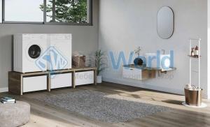 Colavene Smartop мебель подвесная раковина постирочная комната шкаф открытые полки
