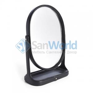 Ralph Lauren Home BRENNAN BLACK зеркало настольное овальное