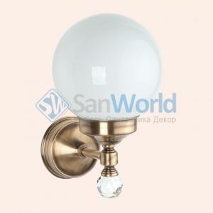 """Бра со стеклянным плафоном """"шар"""" (комплект), стекло: матовое TW Crystal TWCR130br/sw"""