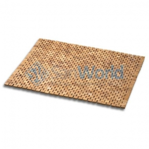 Деревянный коврик для ванной Тиковый Cespi