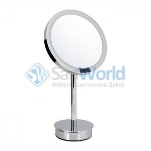 Decor Walther Just Look SR хром настольное косметическое зеркало с подсветкой LED и увеличением х5